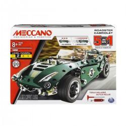 Meccano 5-in-1 Roadster Pull Back Car