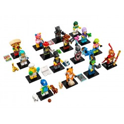LEGO Collectible Minifigures 71025 Series 19 Complete Set of 16