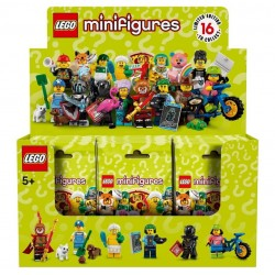 LEGO Collectible Minifigures 71025 Series 19 Complete Box of 60