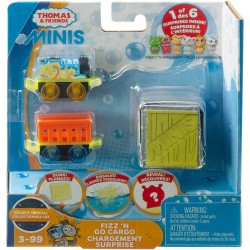 Thomas & Friends MINIS Fizz 'N Go Cargo Chargement Surprise - Thomas and Unicorn