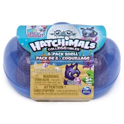 Hatchimals Colleggtibles S5 6 Pack Sea Shell Carton - Purple