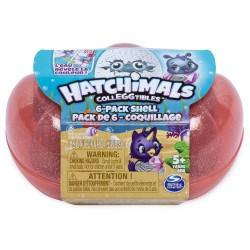 Hatchimals Colleggtibles S5 6 Pack Sea Shell Carton - Orange