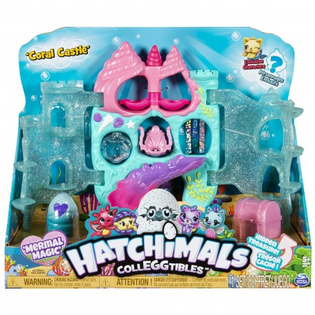 Hatchimals Colleggtibles S5 Coral Castle Display Set