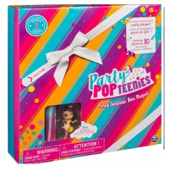 Party Popteenies Surprise Box Playset - Hayden Cutie Animal Surprise