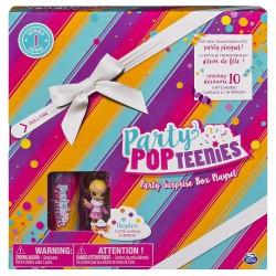 Party Popteenies Surprise Box Playset - Hayden Rainbow Unicorn Surprise