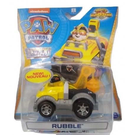 Paw Patrol True Metal Diecast Vehicles - Rubble_1