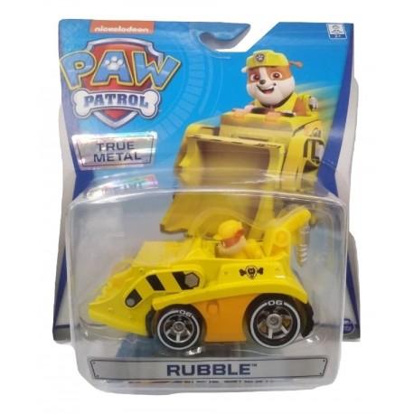 Paw Patrol True Metal Diecast Vehicles - Rubble_2