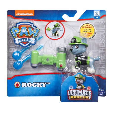 Paw Patrol Hero Pup Ultimate Rescue Water Cannon Series - Rocky