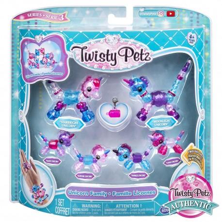 Twisty Petz series 3 Unicorn Family Pack Collectible Bracelet