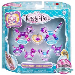 Twisty Petz series 3 Unicat Family Pack Collectible Bracelet