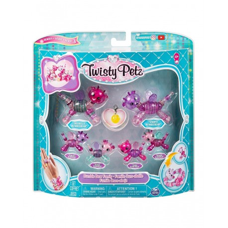 Twisty Petz Series 3 Bumble Bear Family Pack Collectible Bracelet