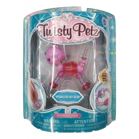 Twisty Petz Single Pack Bracelet - Sparklbeary Bear