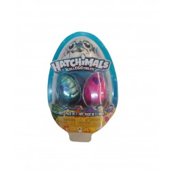 Hatchimals Colleggtibles S5 2 Pack + Nest GML - Blue and Pink