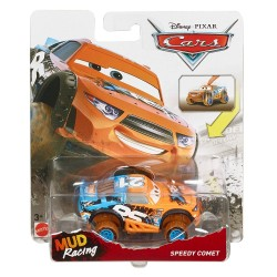 Disney Pixar Cars XRS MUD Racing Speedy Comet