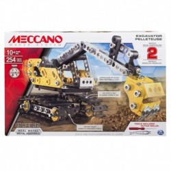 Meccano 2-in-1 Model Set Excavator
