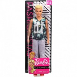 Barbie Ken Fashionistas Doll 116 - Original with Blonde Hair