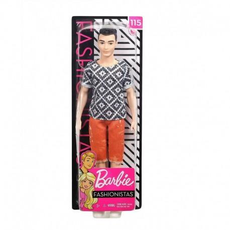 Barbie Ken Fashionistas Doll 115 - Boho Hip