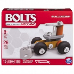 Meccano Bolts Mini Vehicles - Bulldozer