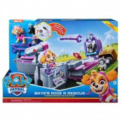 Paw Patrol Skye's Ride n Rescue Transforming Helicopter