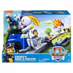Paw Patrol Chase's Ride n Rescue Transforming Police Vehicle