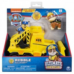 Paw Patrol Rubble's Transforming Bulldozer