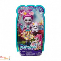 Enchantimals Mayla Mouse Doll and Fondue Figure