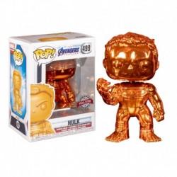 Funko Pop! Marvel 499: Avengers: End Game - Hulk (Orange Chrome) (Exclusive)