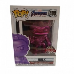 Funko Pop! Marvel 499: Avengers: End Game - Hulk (Purple Chrome) (Exclusive)