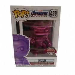 Funko Pop! Marvel 499: Avengers: End Game - Hulk (Purple Chrome) (Exclusive)