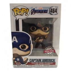 Funko Pop! Marvel 464: Avengers: End Game - Captain America (Exclusive)