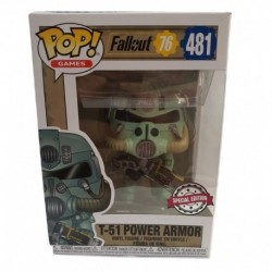 Funko Pop! Games 481: Fallout 76 - T-51 Power Armor (Exclusive)