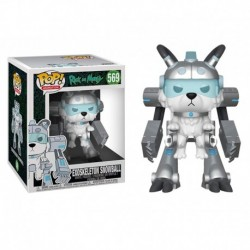 Funko Pop! Animation 569: Rick and Morty- Exoskeleton Snowball - (6inch)