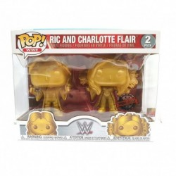 Funko Pop! WWE: Ric and Charlotte Flair - 2pk