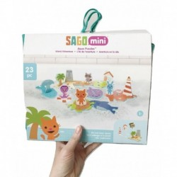 Sago Mini Bath Toys Foam Island