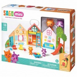 Sago Mini Portable Playset Jinja's house