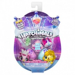 Hatchimals CollEGGtibles S6 Royal 4 Pack