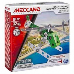 Meccano Bolts Mini Vehicles - Helicopter