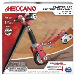 Meccano Bolts Mini Vehicles - Scooter