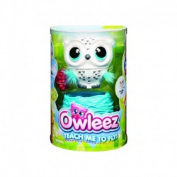 Owleez Interactive Baby Owl White