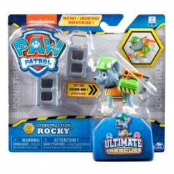 Paw Patrol Ultimate Rescue Construction - Rocky