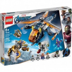 LEGO Marvel Super Heroes 76144 Avengers End Game: Avengers Hulk Helicopter Rescue