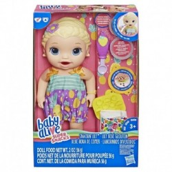 Baby Alive Snackin' Lily Blonde Hair