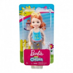 Barbie Club Chelsea Doll - Redhead with Blouse Just be You