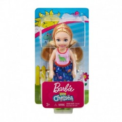 Barbie Club Chelsea Doll - Blonde Doll in Dinosaurs Blouse