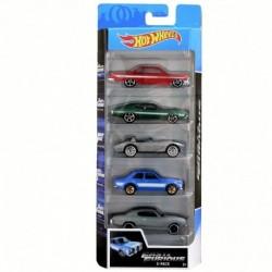 Hot Wheels Fast & Furious 5-Car Pack