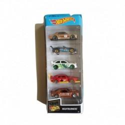 Hot Wheels Nightburnerz 5-Car Pack