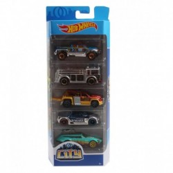 Hot Wheels City Race 5-Car Pack
