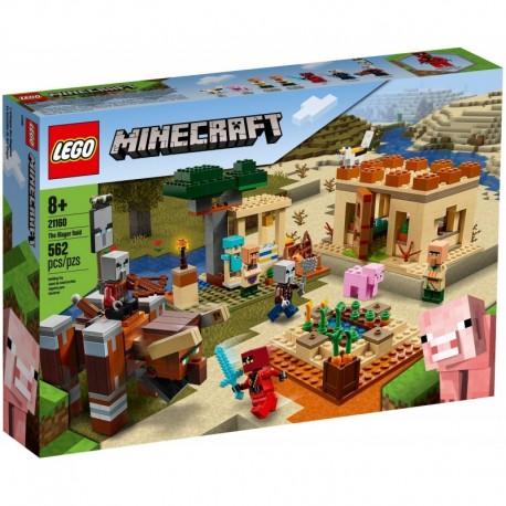 LEGO Minecraft 21160 The Illager Raid