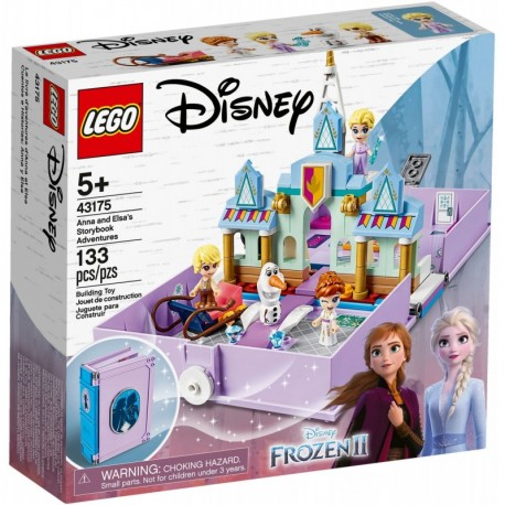 LEGO Disney Frozen 43175 Anna and Elsa's Storybook Adventures