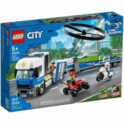 LEGO City Police 60244 Police Helicopter Transport